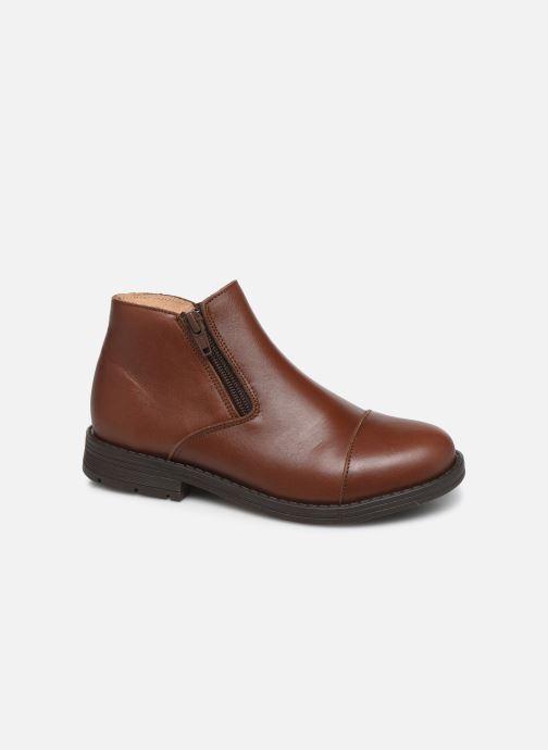 Boots en enkellaarsjes Yep Narcisse Bruin detail