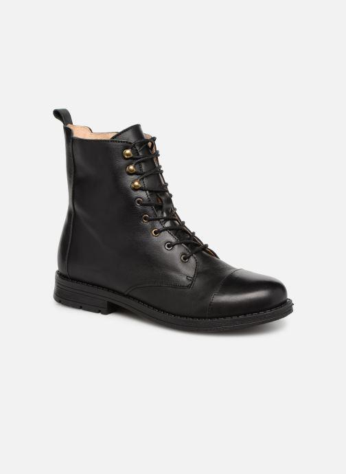 Boots en enkellaarsjes Yep Nicole Zwart detail