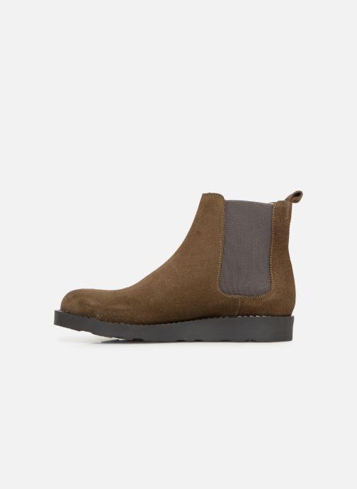 Bottines et boots Yep Pascala Vert vue face
