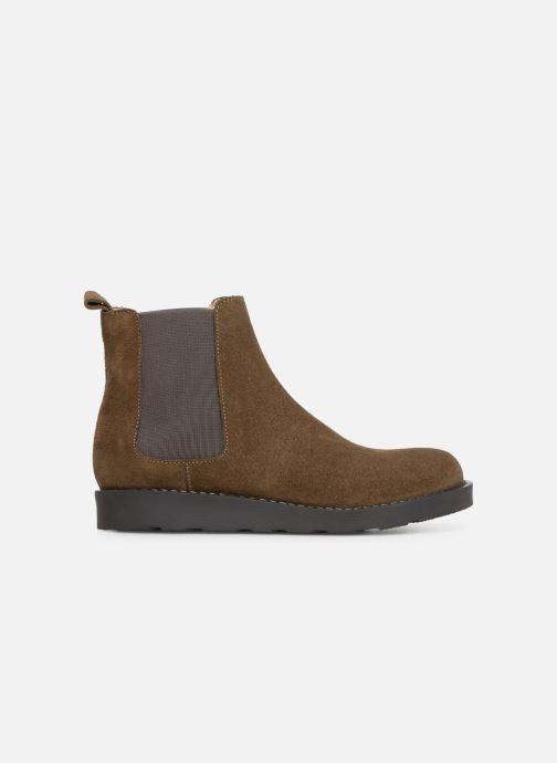 Bottines et boots Yep Pascala Vert vue derrière