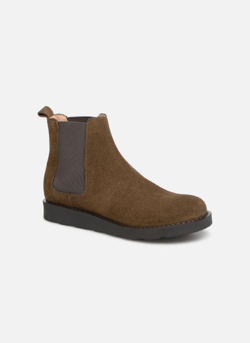 Bottines et boots Yep Pascala Vert vue détail/paire
