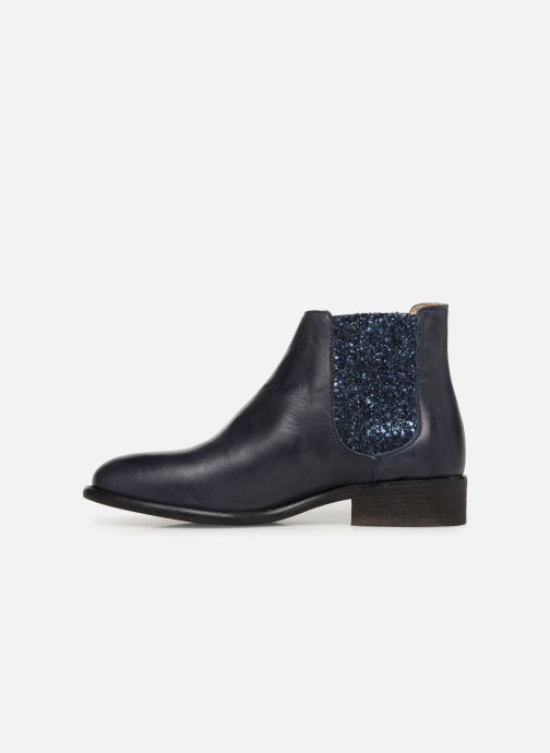 Bottines et boots Yep Pauline Bleu vue face