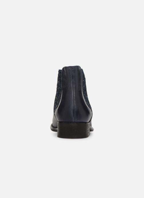 Bottines et boots Yep Pauline Bleu vue droite
