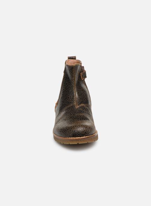 Bottines et boots Yep Jessy Marron vue portées chaussures