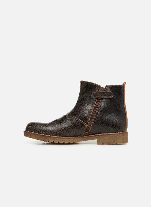Bottines et boots Yep Jessy Marron vue face