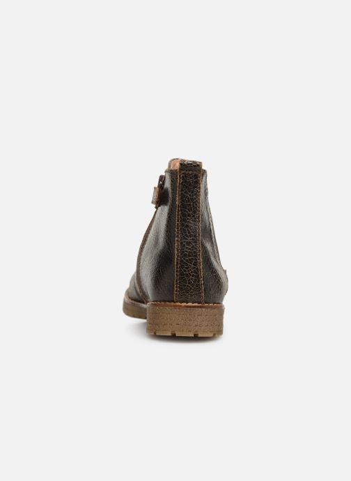 Bottines et boots Yep Jessy Marron vue droite