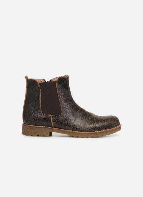 Bottines et boots Yep Jessy Marron vue derrière