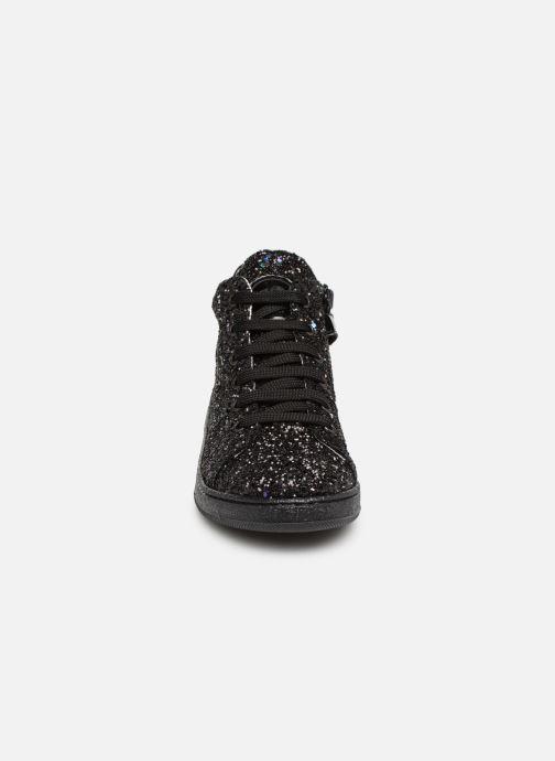 Baskets Yep Eddy Noir vue portées chaussures