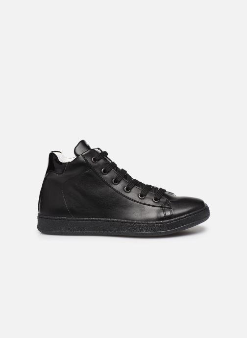 Sneakers Yep Eddy Zwart achterkant