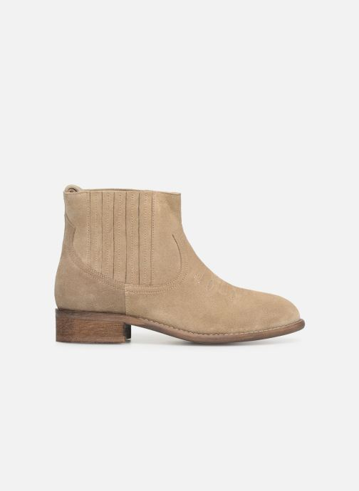 Bottines et boots Yep Debby Beige vue derrière