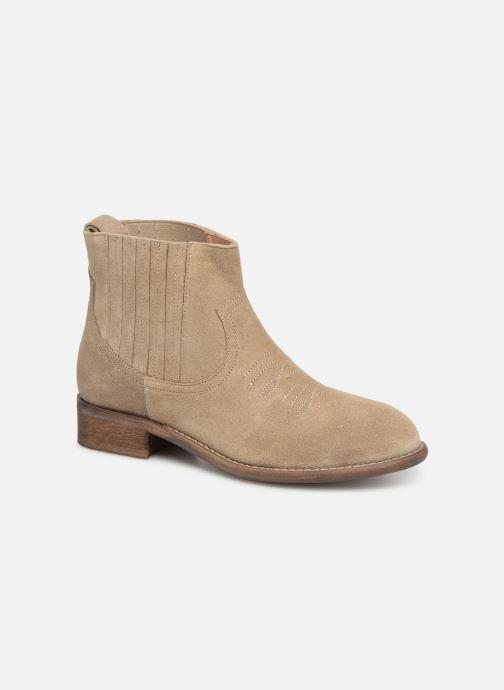 Ankelstøvler Yep Debby Beige detaljeret billede af skoene