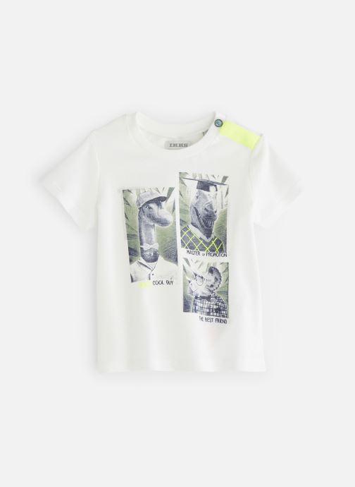 Vêtements IKKS JUNIOR  XN10101 Blanc vue détail/paire