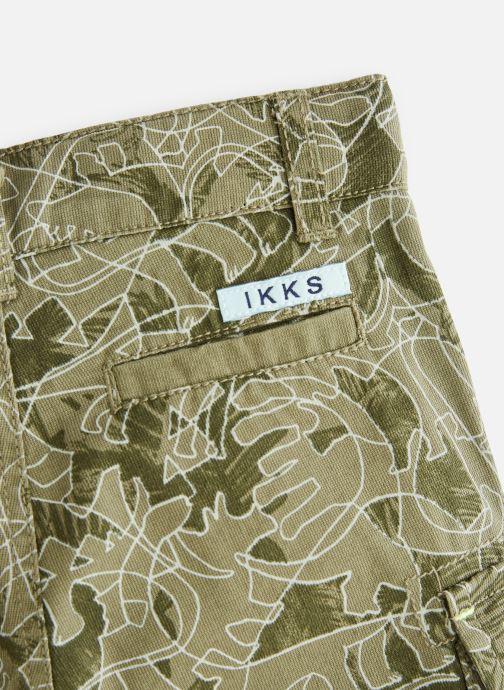 Vêtements IKKS JUNIOR  XN25101 Vert vue portées chaussures