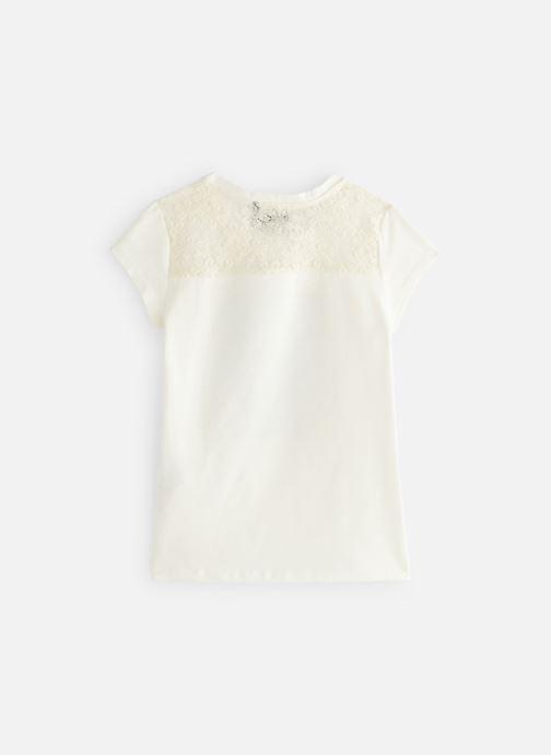 Vêtements IKKS JUNIOR  XN10052 Blanc vue bas / vue portée sac