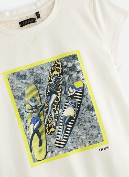 Vêtements IKKS JUNIOR  XN10052 Blanc vue portées chaussures