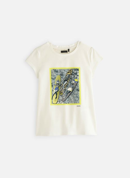 Vêtements IKKS JUNIOR  XN10052 Blanc vue détail/paire