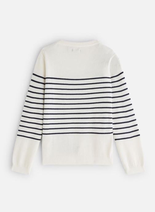 Vêtements IKKS JUNIOR  XN18022 Blanc vue bas / vue portée sac