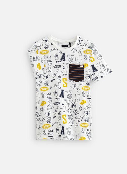 Vêtements IKKS JUNIOR  XN10043 Blanc vue détail/paire