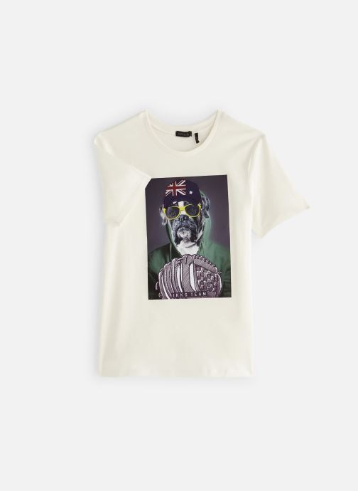 Vêtements IKKS JUNIOR  XN10083 Blanc vue détail/paire