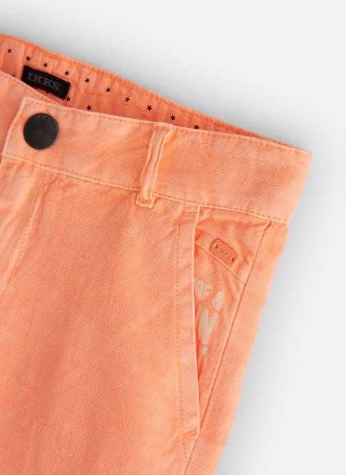 Vêtements IKKS JUNIOR  XN25163 Orange vue portées chaussures