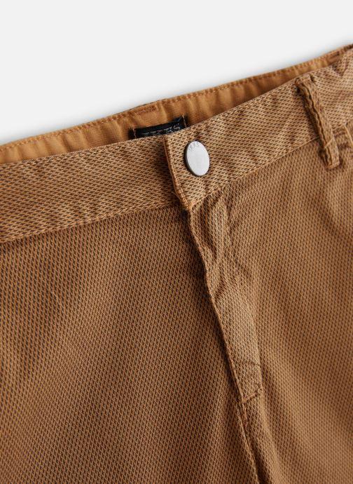 Vêtements IKKS JUNIOR  XN25243 Marron vue portées chaussures