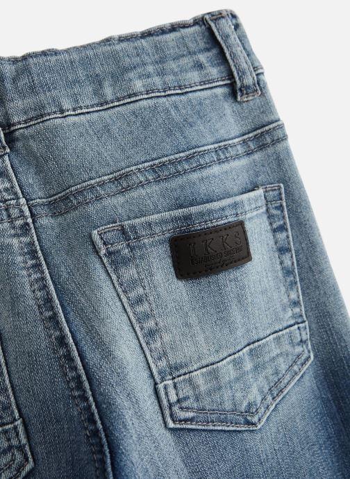 Vêtements IKKS JUNIOR  XN29043 Bleu vue portées chaussures