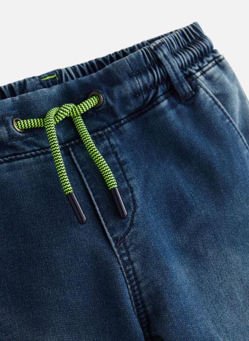 Vêtements IKKS JUNIOR  XN29063 Bleu vue portées chaussures