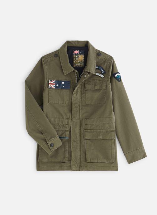Vêtements IKKS JUNIOR  XN42003 Vert vue détail/paire