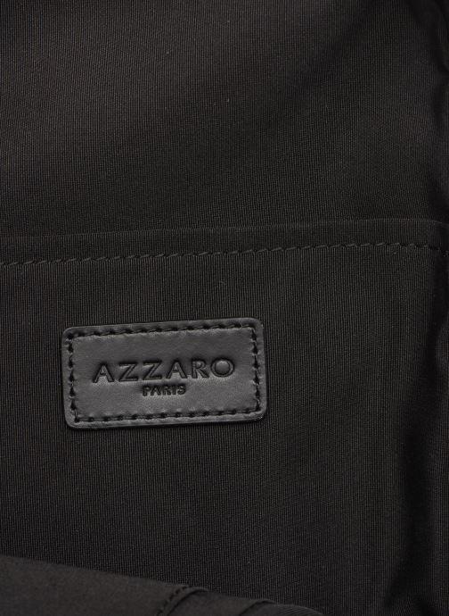 Sacs homme Azzaro LIVE PORTE TRAVERS Monobretelle Noir vue derrière