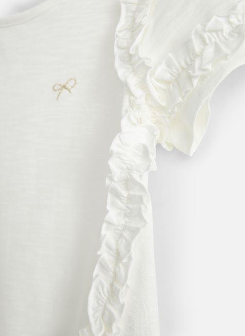 Vêtements Lili Gaufrette GN10022 Blanc vue portées chaussures