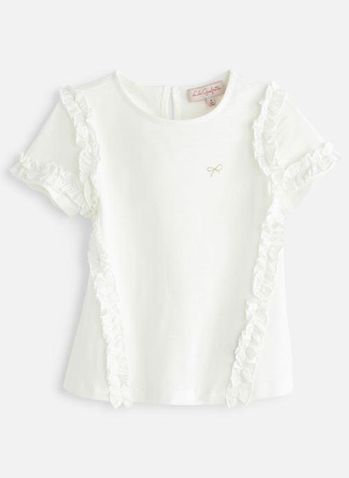 Vêtements Lili Gaufrette GN10022 Blanc vue détail/paire