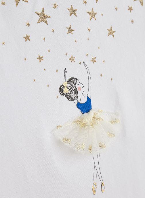 Vêtements Lili Gaufrette GN10132 Blanc vue portées chaussures