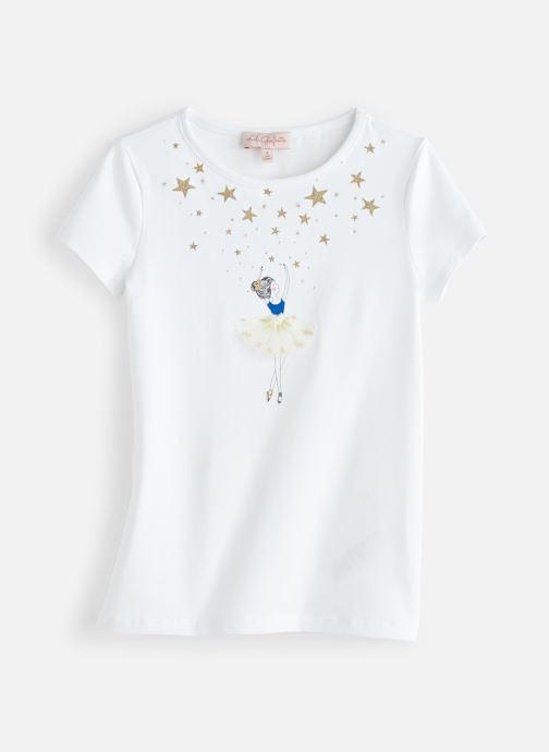 Vêtements Lili Gaufrette GN10132 Blanc vue détail/paire
