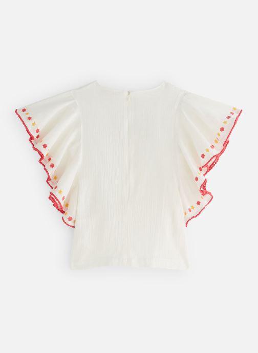 Vêtements Lili Gaufrette GN12052 Blanc vue bas / vue portée sac