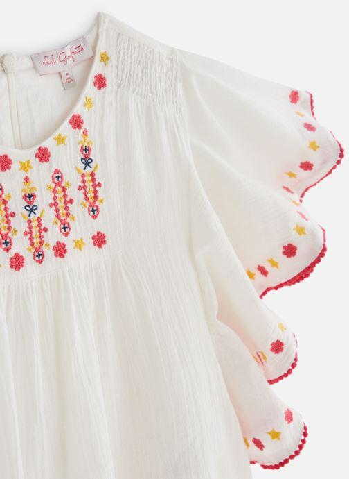 Vêtements Lili Gaufrette GN12052 Blanc vue portées chaussures