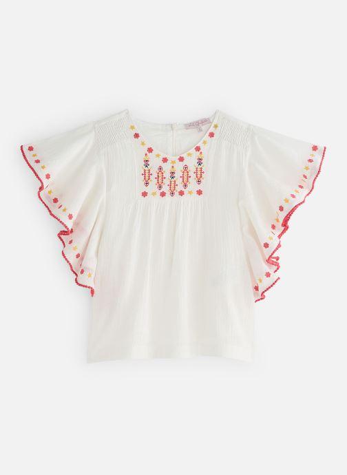 Vêtements Lili Gaufrette GN12052 Blanc vue détail/paire
