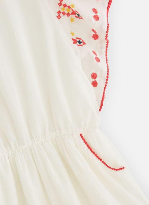 Vêtements Lili Gaufrette GN30102 Blanc vue portées chaussures