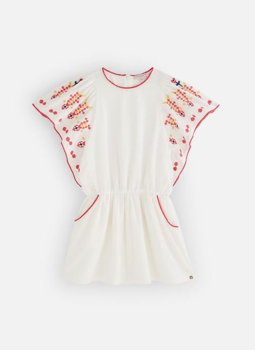 Vêtements Lili Gaufrette GN30102 Blanc vue détail/paire