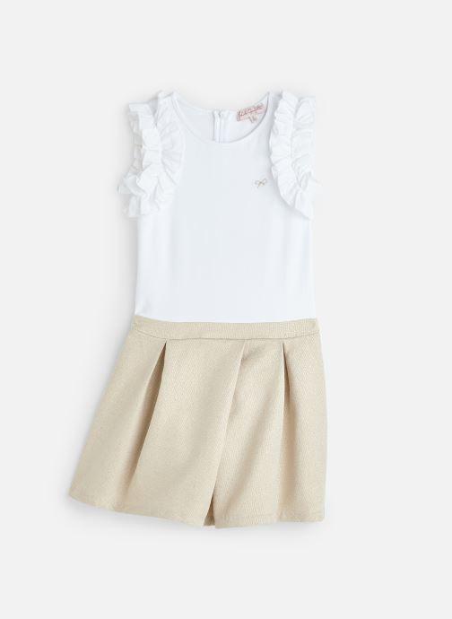 Vêtements Lili Gaufrette GN30192 Beige vue détail/paire