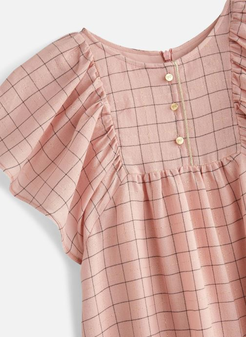 Vêtements Lili Gaufrette GN30022 Rose vue portées chaussures