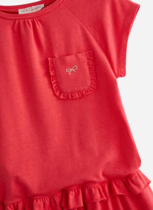 Vêtements Lili Gaufrette GN30162 Rose vue portées chaussures