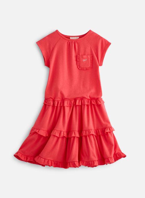Vêtements Lili Gaufrette GN30162 Rose vue détail/paire