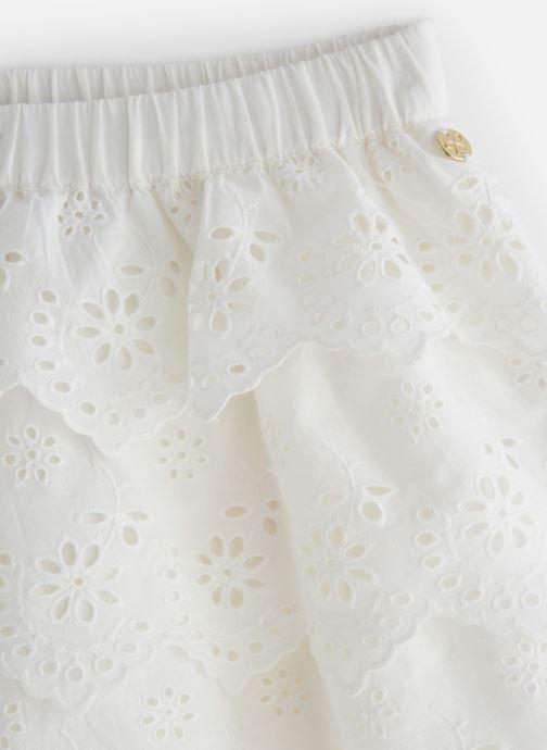 Vêtements Lili Gaufrette GN27002 Blanc vue portées chaussures