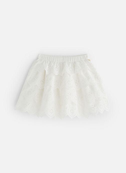 Tøj Lili Gaufrette GN27002 Hvid detaljeret billede af skoene