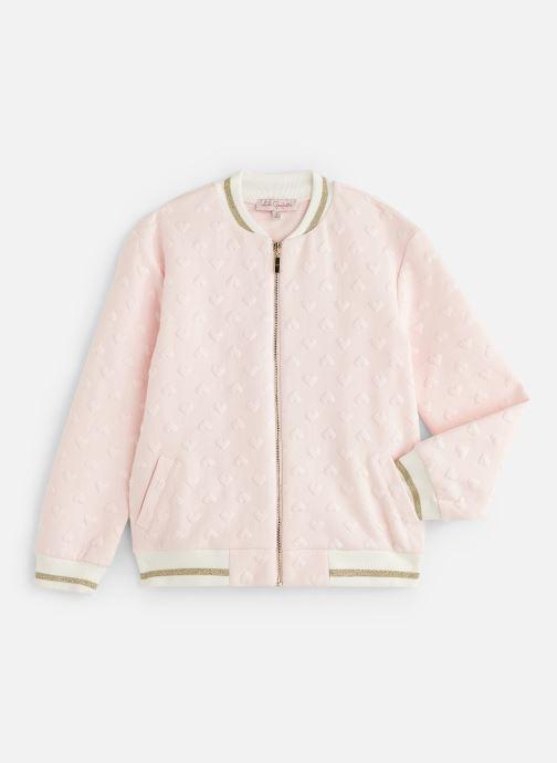 Vêtements Lili Gaufrette GN40002 Rose vue détail/paire