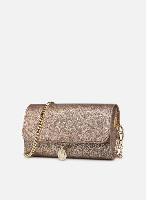 Handbags Sainte Isaure Renée Bronze and Gold model view