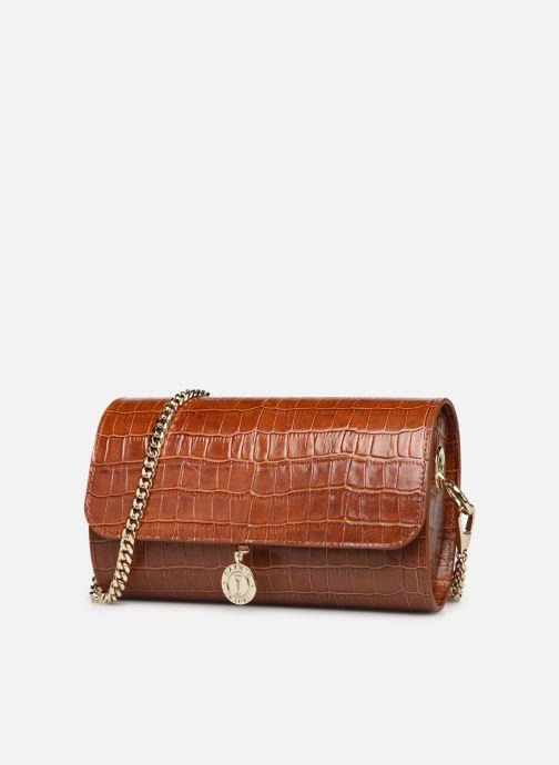 Handbags Sainte Isaure Renée Brown model view