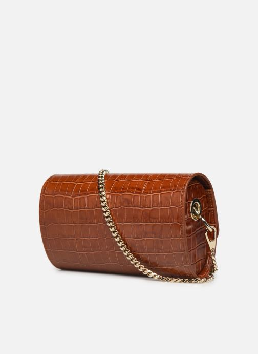 Handbags Sainte Isaure Renée Brown view from the right