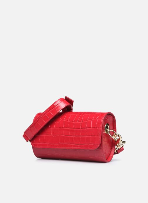 Bolsos de mano Sainte Isaure Renée Rojo vista del modelo