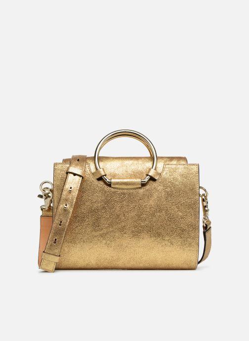 Bolsos de mano Sainte Isaure Scarlett Oro y bronce vista de detalle / par